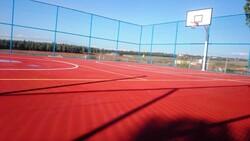 adelinspor - Basketbol Sahası Akrilik Zemin Yapımı 300 m2