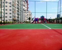 adelinspor - Tenis Sahası Akrilik Zemin Yapımı 300 m2
